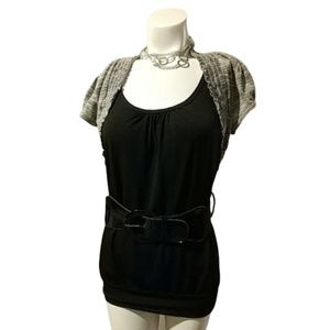 Heart & Soul Belted Top
